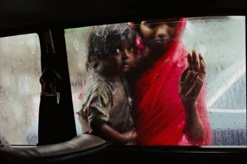 Mother & Child at Car Window