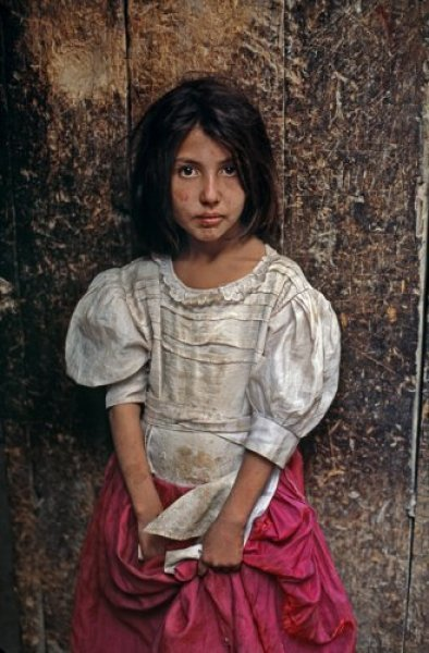 A Young Girl on the Street of Kabul